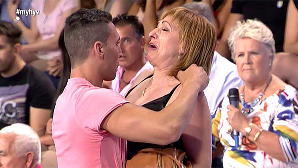 """Gonzalo, a su madre Amelia: """"Es mejor que no vengas más al plató"""""""