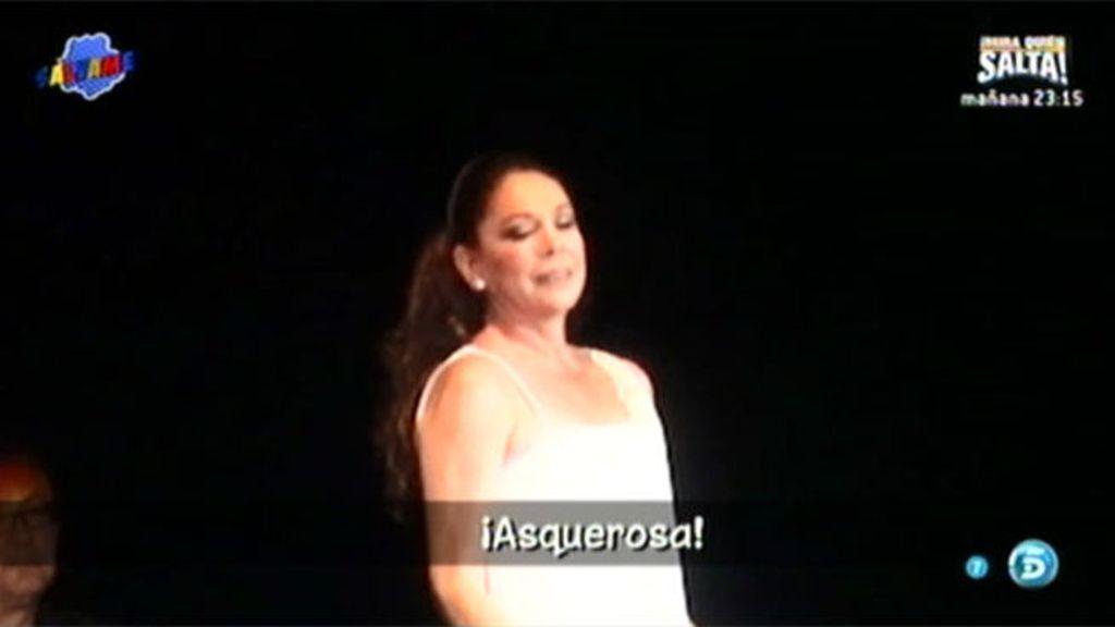 Isabel Pantoja, insultada y abucheada