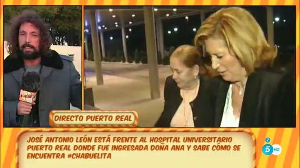Doña Ana, madre de Isabel Pantoja, hospitalizada tras padecer unos dolores muy fuertes en la ciática