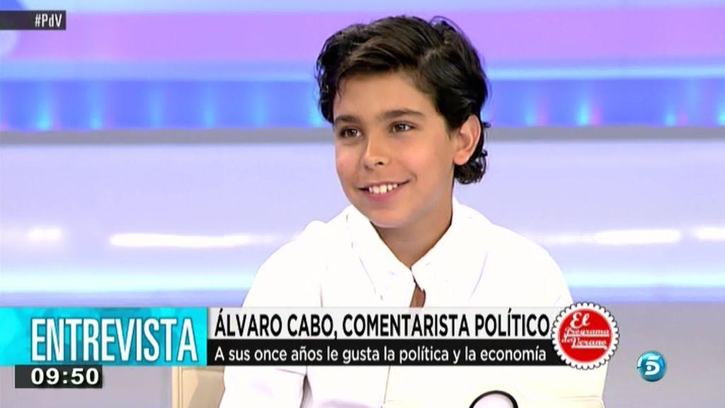 """Álvaro Cabo: """"Pablo Iglesias es una gran sorpresa electoral"""""""