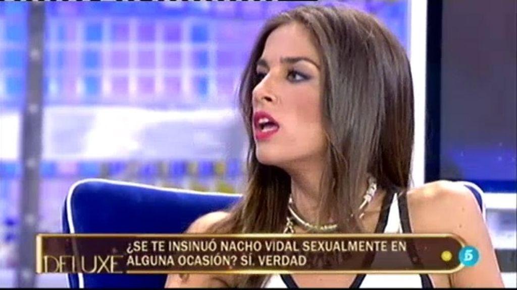 El polígrafo confirma que Nacho Vidal se ha insinuado a Suhaila en alguna ocasión