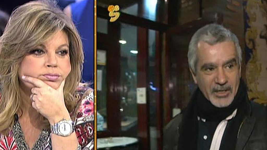 """José Valenciano, sobre las palabras de Terelu Campos: """"Son muy bonitas y sinceras"""""""