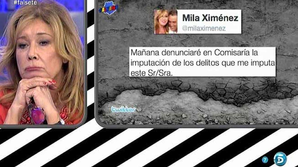 """Mila Ximénez, al clan que defiende a Pantoja: """"La guerra está abierta"""""""