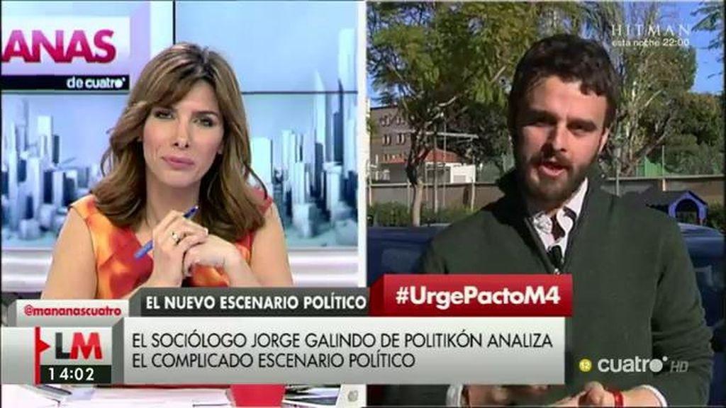 """Jorge Galindo: """"La reedición del pacto a la portuguesa es, quizá, la menos probable de las opciones"""""""