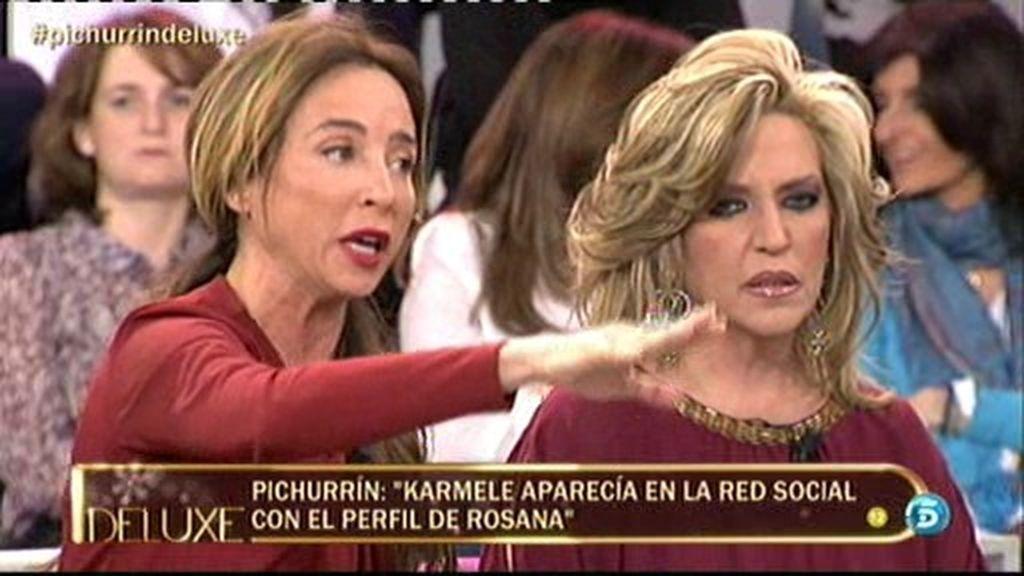 ¡María Patiño desvela que el marido de Karmele le mandó mensajes!