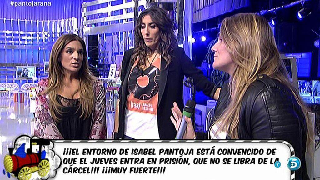 Raquel Bollo desmiente que Isabel Pantoja suspenda su próximo concierto