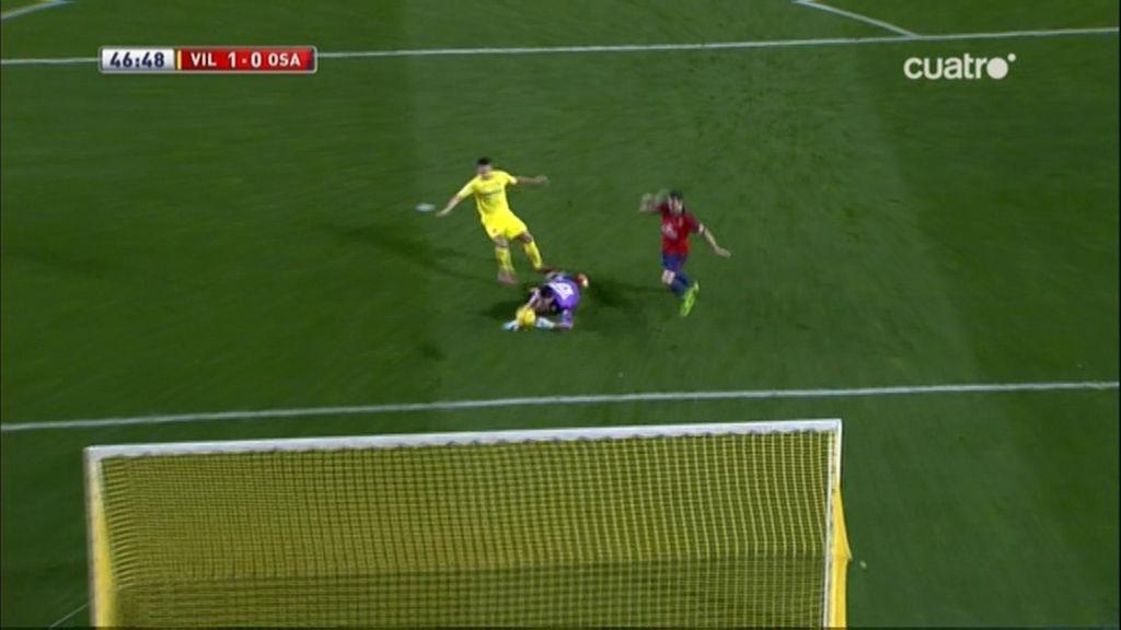 Gol de Perbet (Villarreal 1-0 Osasuna)