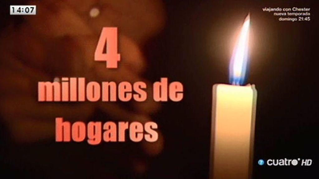 Los bomberos de Barcelona denuncian los incendios domésticos causados por la pobreza energética