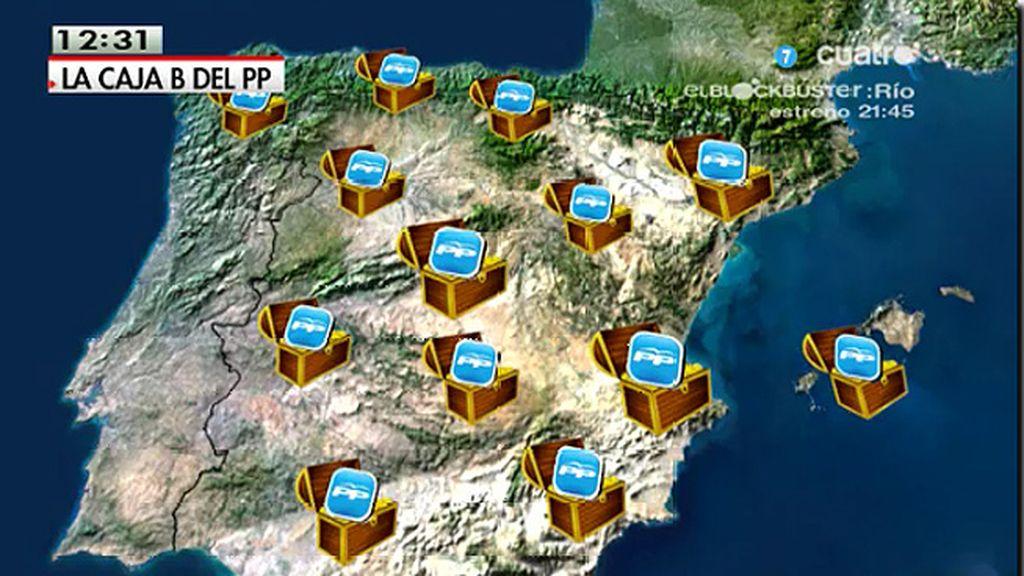 Bárcenas declara ante el juez que existían 'cajas B' en sedes regionales y provinciales