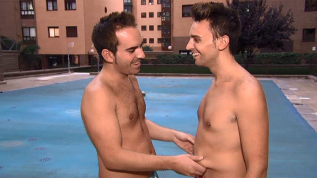 Luis y Jonathan quieren ser chicos de revista