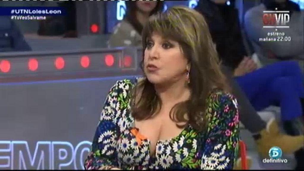 """Loles León: """"En TVE no sentó muy bien que apoyara a los trabajadores"""""""