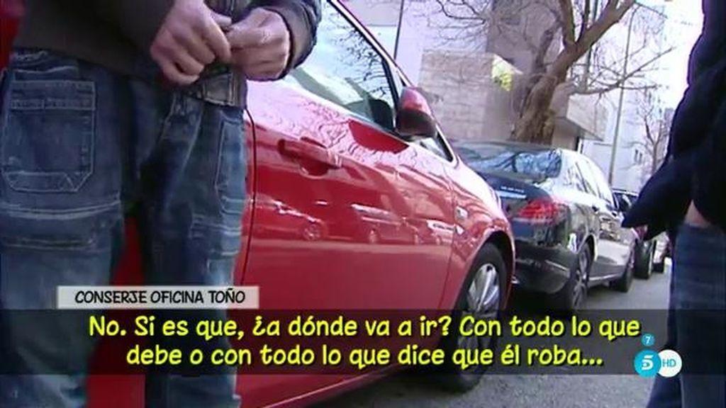 """Conserje de la oficina de Toño Sanchís: """"Pensé que en cualquier momento tendría que ir a Alcalá Meco a cobrarle el alquiler"""""""