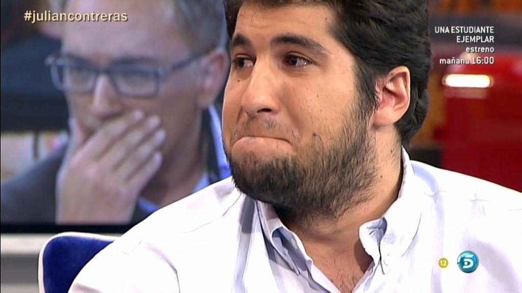 """Julián C.: """"Cuando me recetan las mismas pastillas que a mi madre, me derrumbo"""""""