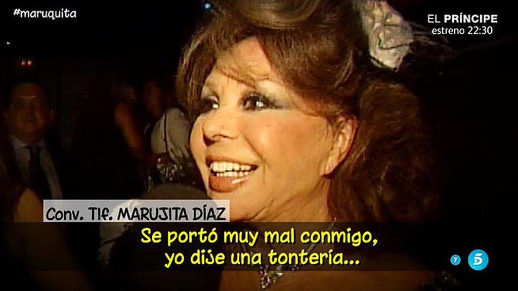 "Marujita Díaz: ""A mí no me embarga nadie"""
