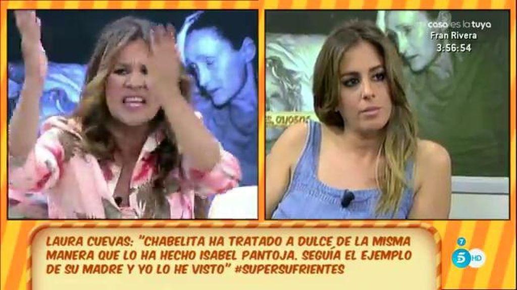 El comentario de mal gusto de Laura Cuevas que motivó el enfado de Anabel Pantoja