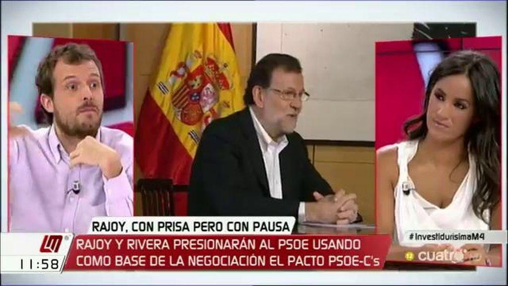 """Pablo Padilla (Podemos): """"Rivera le está pidiendo al lobo que deje de comer ovejas"""""""
