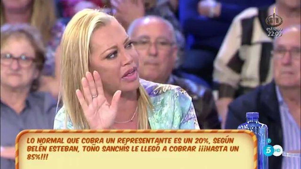 """Belén Esteban, ante la demanda de Sanchís a Hernández: """"Voy a ir de testigo"""""""