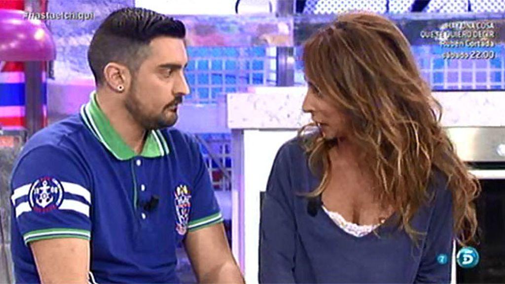 Borja, el marido de Chiqui, se someterá al polígrafo del 'Deluxe' este viernes