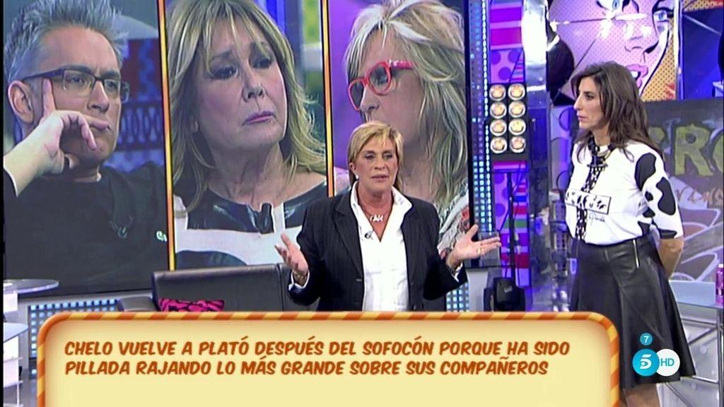 """Chelo Gª Cortés: """"¿Nunca habéis dicho cosas de las que os arrepentís? Me han hecho una cámara oculta y me he desahogado"""""""