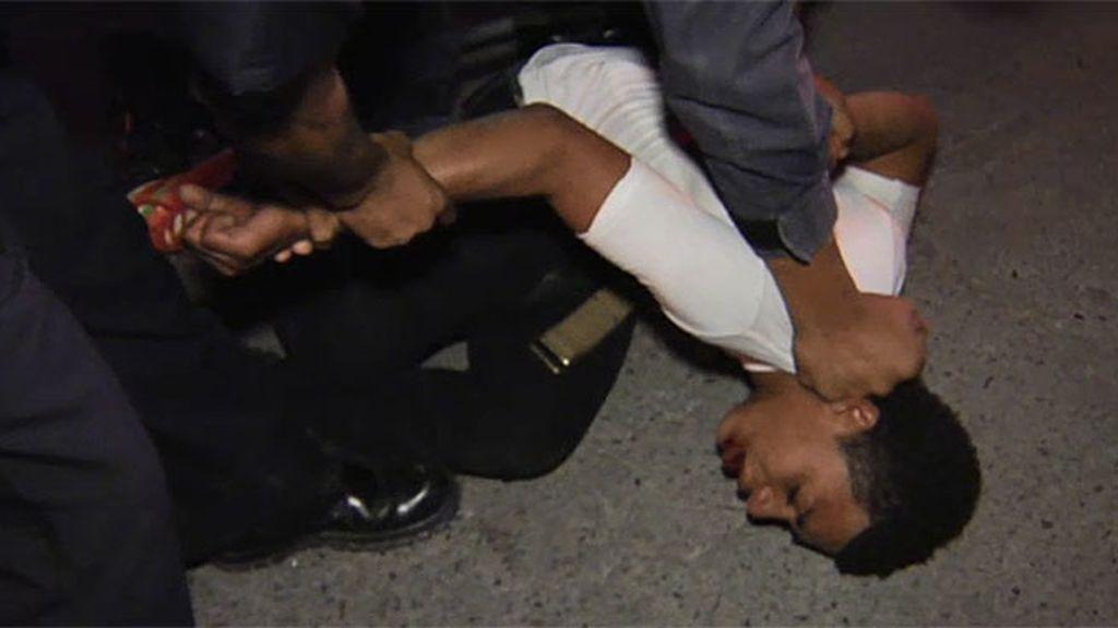 Cabo Vadillo detiene a un joven tras una pelea callejera