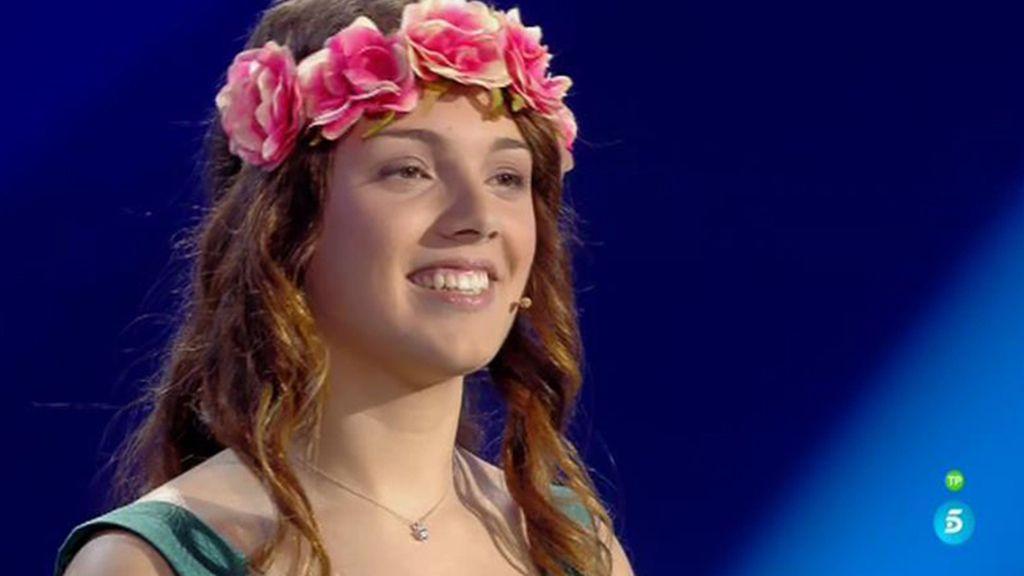 Arianna canta más allá del arcoíris