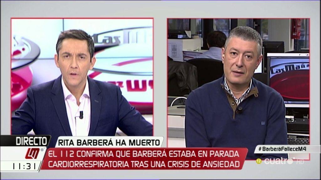 """Benito, inspector de Policía: """"Hay que descartar que quisiera acabar con su vida"""""""