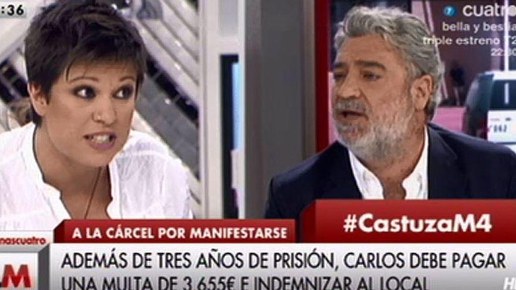 """B. Talegón, a M. Á. Rodríguez: """"No sé qué lecciones vienes a dar, cuando te has saltado las normas"""""""