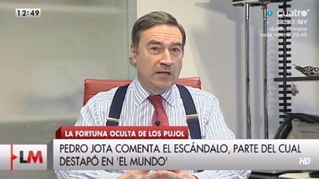 """Pedro J., sobre Pujol: """"Lo de Andorra no es más que una pequeña parte del iceberg"""""""