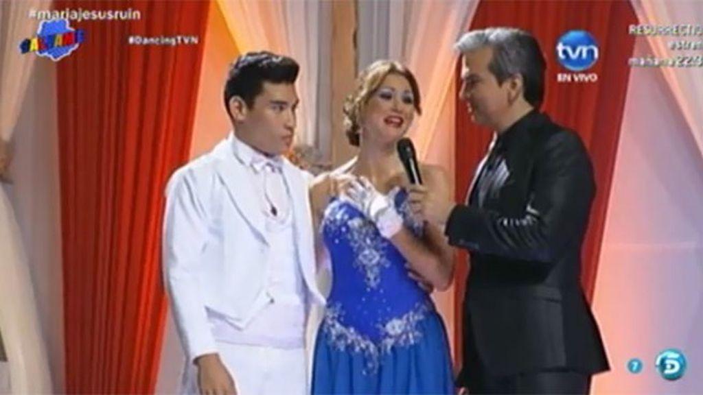 Mª Jesús Ruiz, de 'Miss España' al concurso 'Dancing with the stars' en Panamá