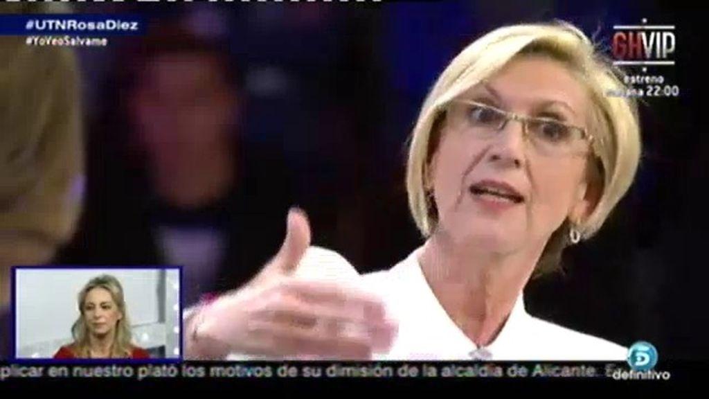 """Rosa Díez: """"UPyD es Rosa Díez, pero también muchas otras cosas"""""""