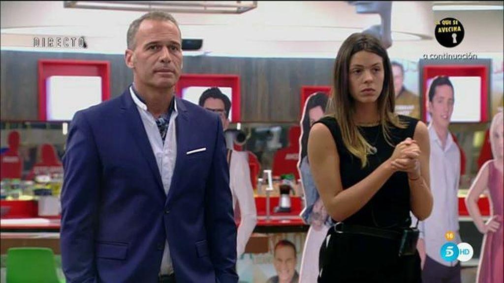¡Carlos Lozano y Laura Matamoros eligen para el otro el vestuario para la gran final!