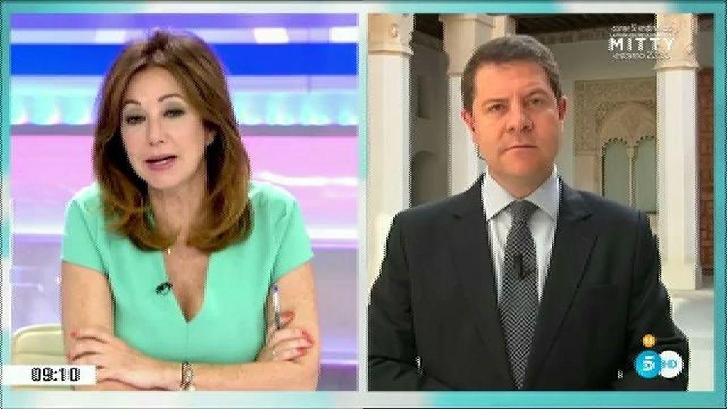 """García Page: """"Lo que le ha encargado la sociedad al PSOE es ser oposición"""""""