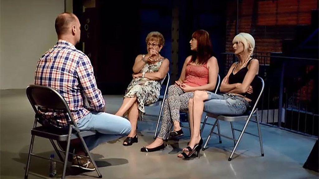 Pilar, Rosi y Verónica se unen para luchar juntas por el bien de Lorena