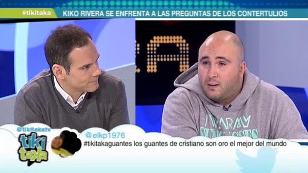 """Kiko Rivera: """"Casillas y Ramos deberían jugar hasta en los partidos amistosos"""""""