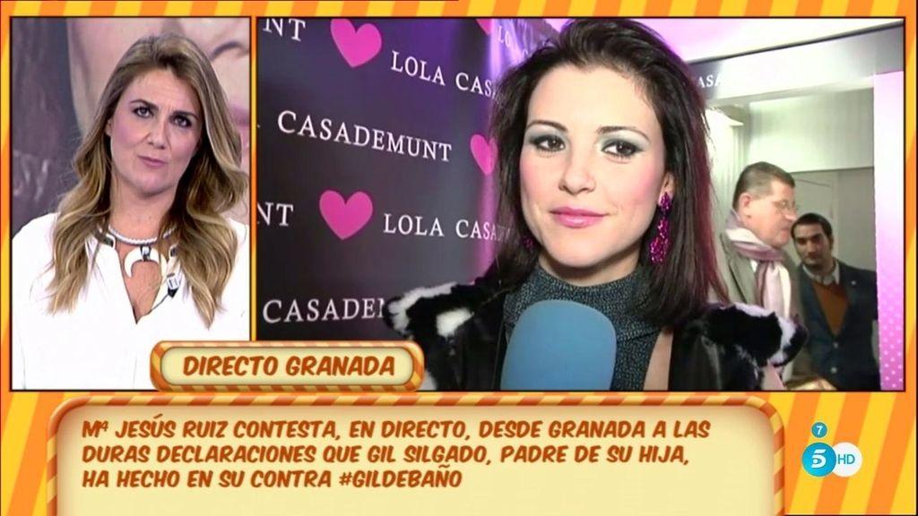 """Mª Jesús Ruiz contesta: """"Tengo mucho de lo que hablar y nada de lo que esconderme"""""""