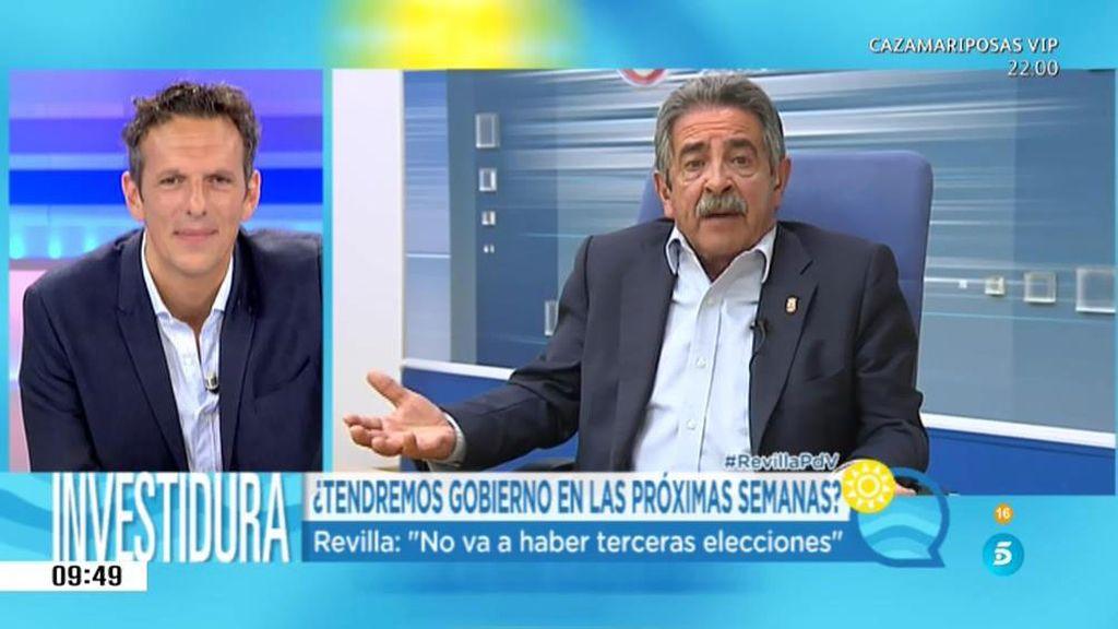 """Revilla: """"El PSOE es la oposición, no al que el PP tiene que ir a buscar"""""""