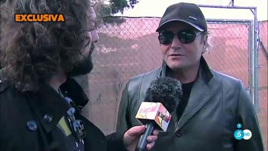 """Amador Mohedano, de Rosa Benito: """"Creo que será finalista por lo menos"""""""