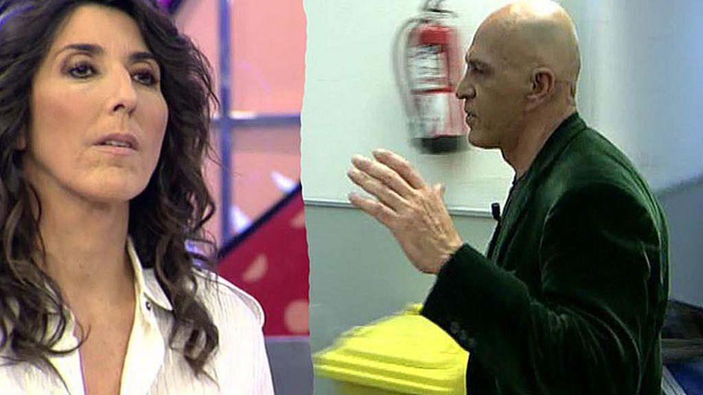 Kiko Matamoros explota contra Paz Padilla en directo y abandona el plató