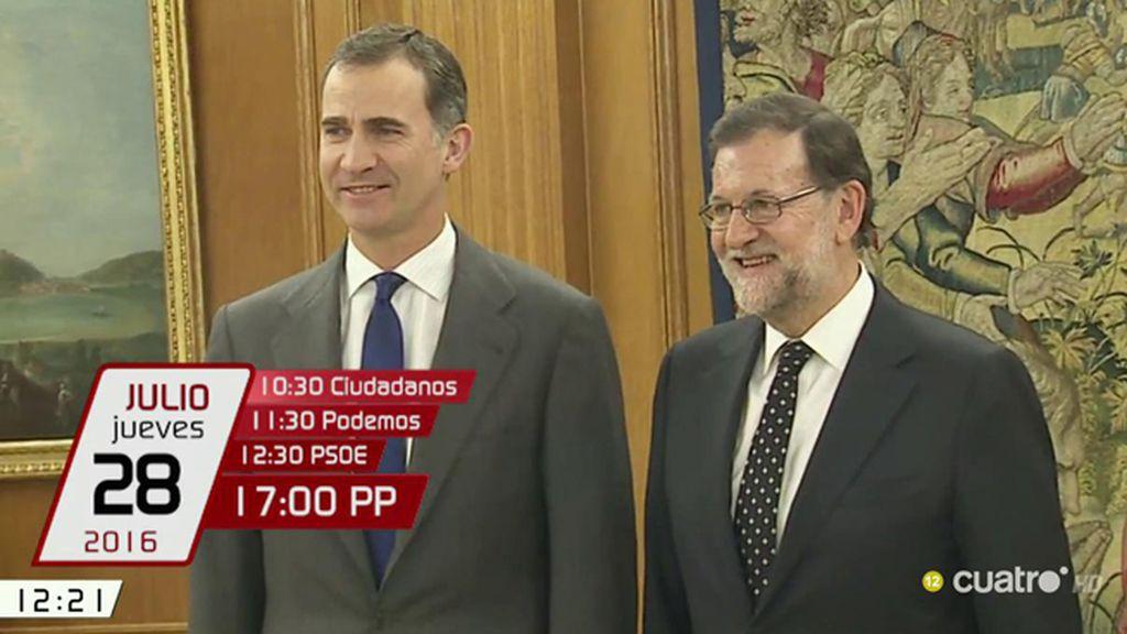Semana clave para Mariano Rajoy, ¿logrará obtener los apoyos necesarios?