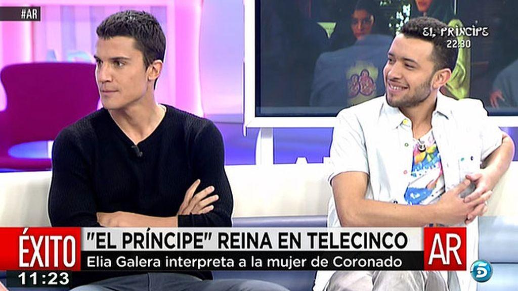 """Álex González: """"En 'El Príncipe' no somos ni buenos ni malos cada uno tiene los motivos que tiene"""""""