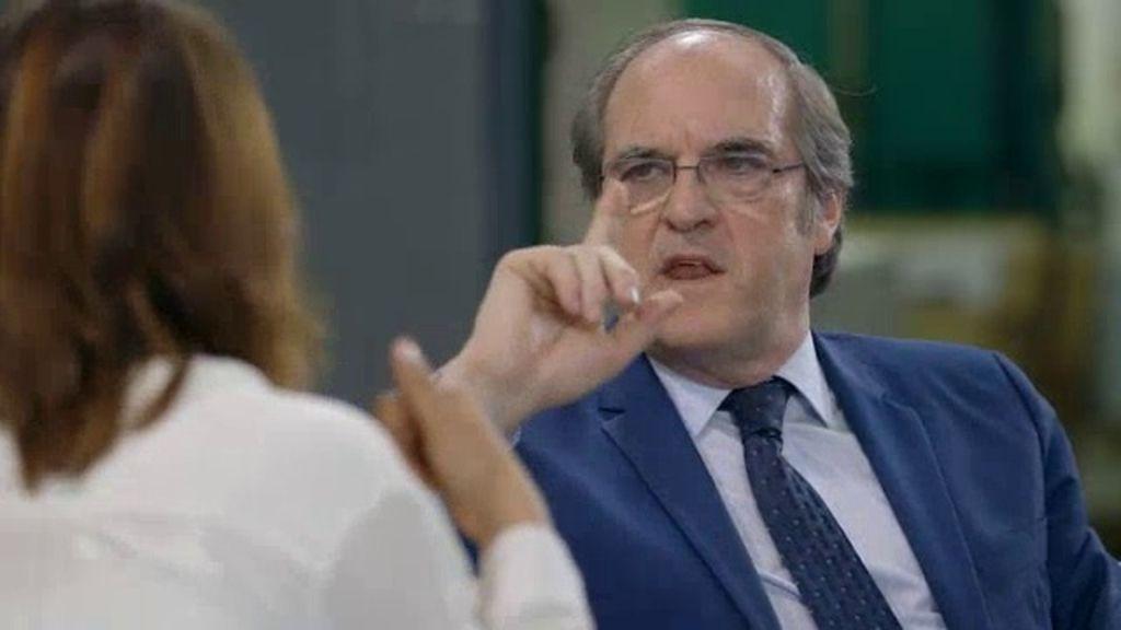"""Ángel Gabilondo: """"El PSOE no me va a poner una línea roja porque no lo permito"""""""