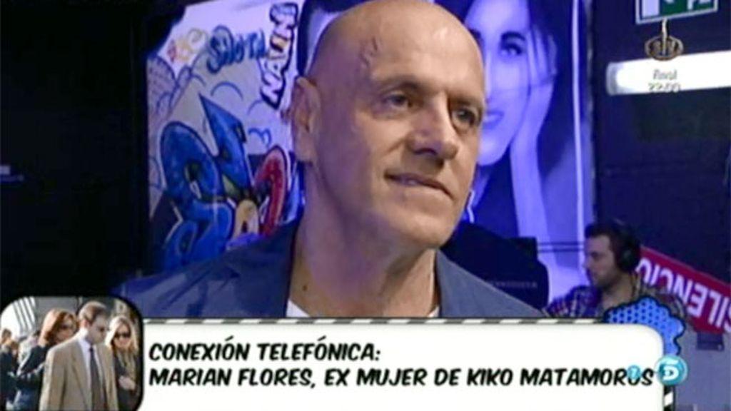 """Marian Flores: """"Kiko no atendió económica ni sentimentalmente bien a sus hijos"""""""