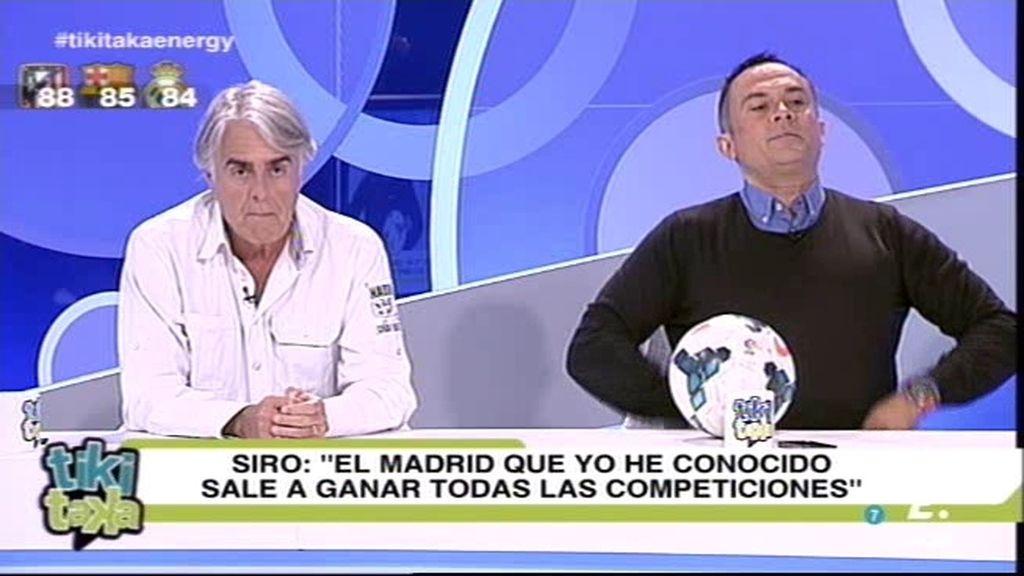 """Siro: """"El Madrid que yo he conocido siempre sale a ganar en todas las competiciones"""""""