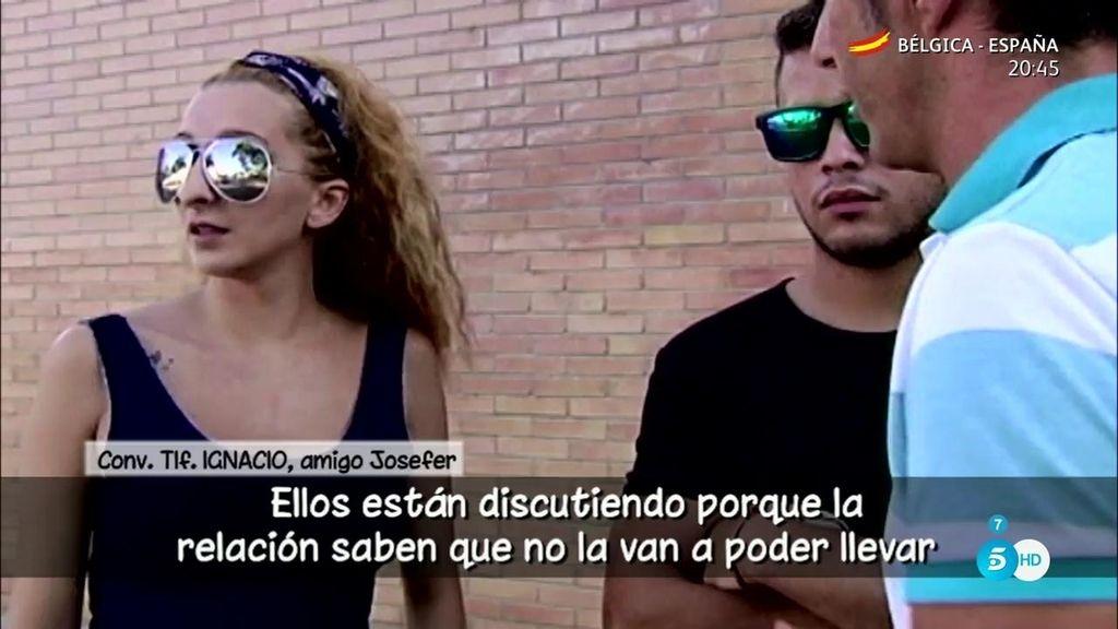 """Ignacio, amigo de Josefer: """"Él quiere a Michu y saben que no pueden estar juntos"""""""