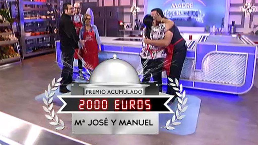 Mª José y Manuel se llevan otros 1.000 euros