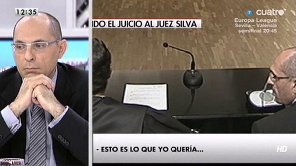 """Elpidio Silva: """"Quería que se viera claramente qué tipo de tribunal pretende enjuiciarme"""""""