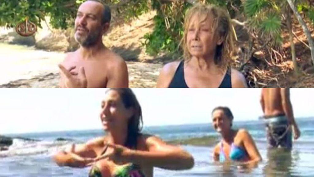 Víctor y Mila retransmiten un enfado del Equipo Agua ¡desde el otro lado de la orilla!