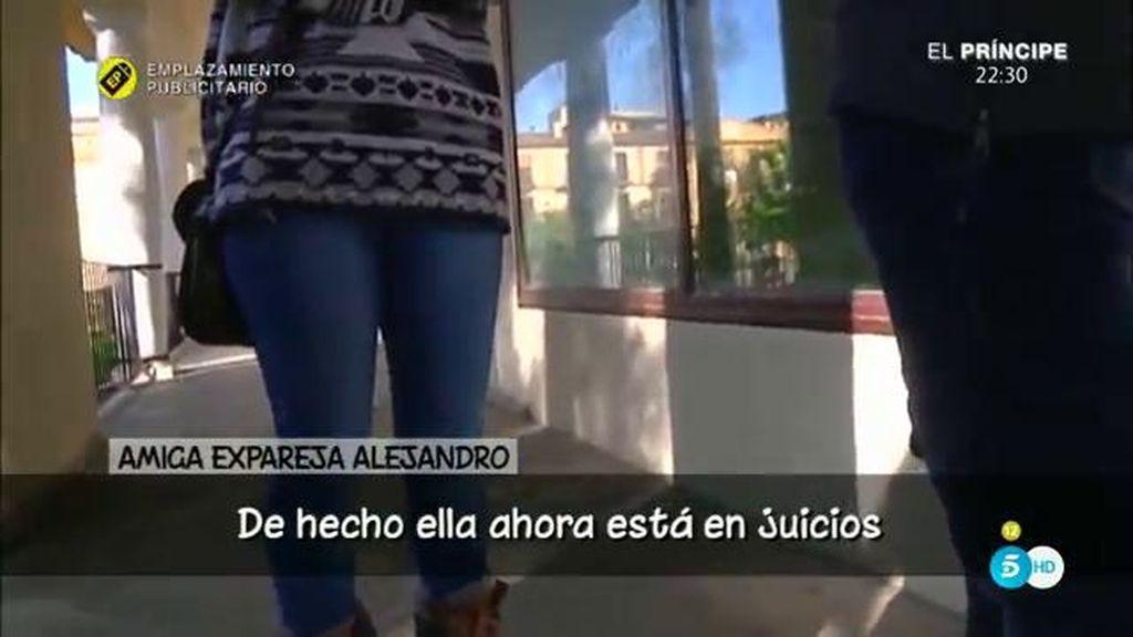 """Amiga de la expareja de Alejandro Nieto (GH VIP): """"Ahora están en juicios para que él le pague lo que pertenece"""""""