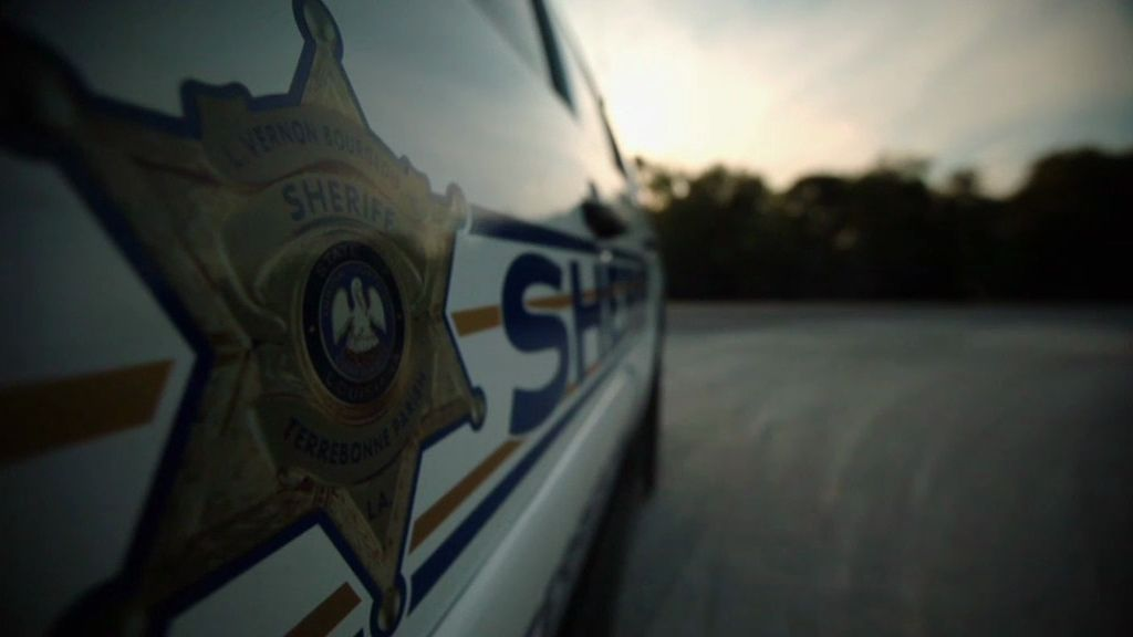 El sheriff Venon Bourgeois vigila a los criminales del Sur de Luisiana