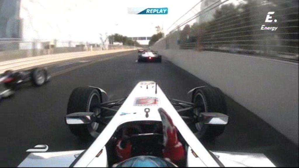 La Fórmula E no conoce de compañeros: ¡Pasadón al límte de Montagny a Pic!